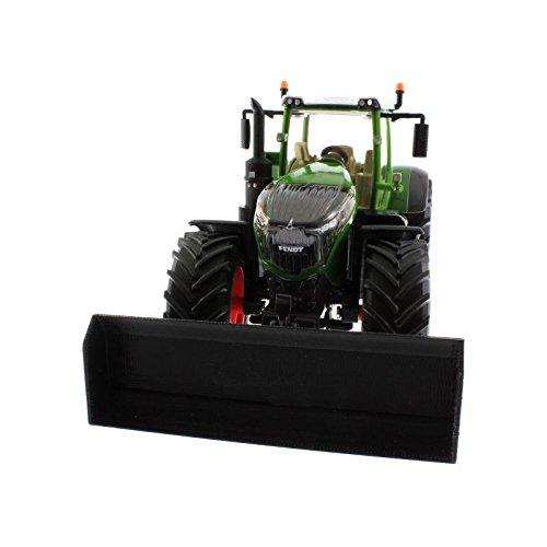 Schiebeschild für Siku Traktoren mit Frontdreieck 1:32 (Schwarz)