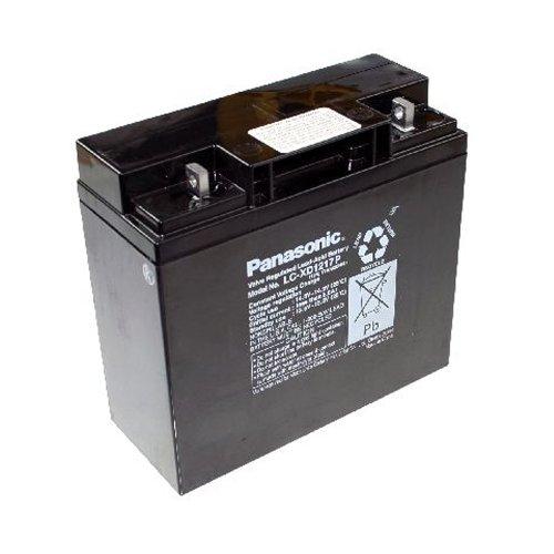 panasonic lc plomb 12v vis industrial battery xd1217p acide de batterie 17ah m5. Black Bedroom Furniture Sets. Home Design Ideas