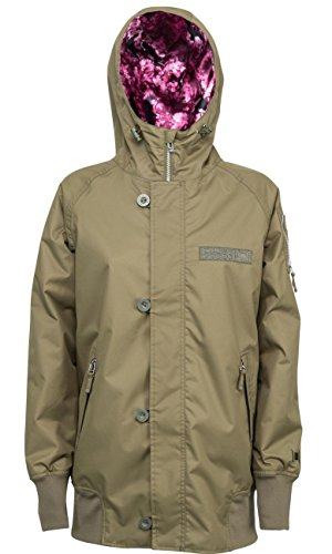 L1 Outerwear L1 Moonage Military Jacken, Damen S Camouflage