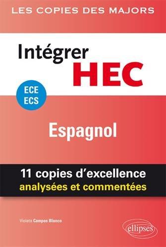 Intgrer HEC  ECE/ECS  Espagnol