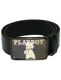 Playboy - Ceinture -  Homme Noir Noir