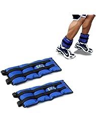 Pack de dos pesas de 6 Kilos para tobillos y/o muñecas para correr o
