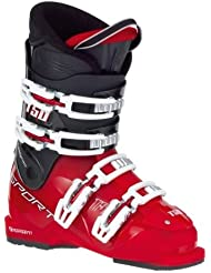 Tecno Pro T50RTL Alpin Botas de esquí Niños Rojo Negro, Tamaño: 20