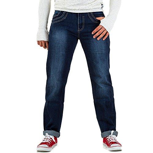 Used Look Jeans Für Herren bei Ital-Design Blau