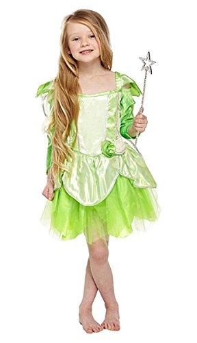 Kinder Kostüm Fee Tinkerbell/Grün