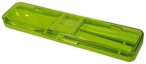 Joy de silencieux Chopstickspoon de couleur Vert