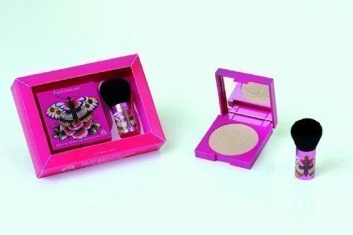 Ikos Pink Edition Maquillage Minéral Foundation avec Pinceau en Set