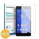 smartect Protector de Pantalla Mate para Sony Xperia Z3 Compact [Mate] - 9H Cristal Templado - Diseño Ultrafino - Instalación Sin Burbujas - Anti-Huellas