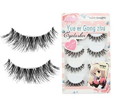 VWH 3D Fake Eyelashes Natural Thick False Eye Lashes Makeup Extension : everything five pounds (or less!)