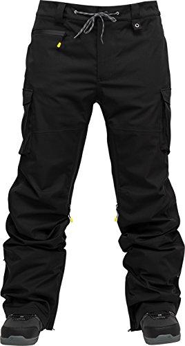 Nitro Snowboards Herren Incline Pnt'18 Snowboardhose, Black, M (Shell Roxy Hose)
