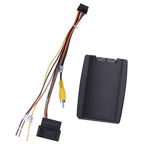 Yingly RGB Camera Adpter Decorder to AV CVBS Signal Converter Box for OEM Factory Rearview Backup Camera for VW/Volkswagen