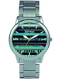 XTRESS Reloj Analógico para Hombre de Cuarzo con Correa en Acero Inoxidable XAA1032-12