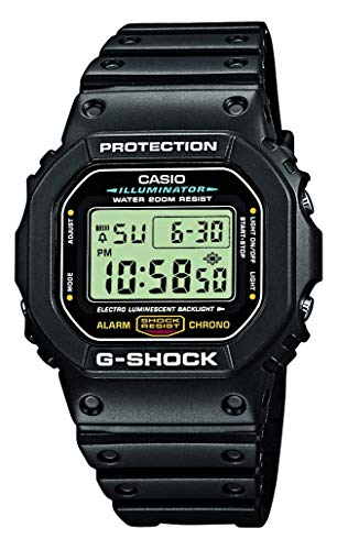 Casio G-Shock Digital Herren-Armbanduhr DW-5600E schwarz, 20 BAR