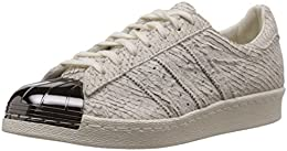 adidas Superstar 80s Metal Toe, Off White-Off White-Core Black