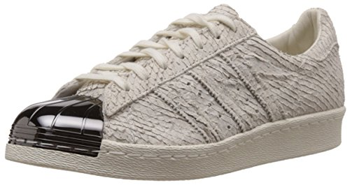 adidas Superstar 80s Metal Toe, Off White-Off White-Core Black off white-off white-core black