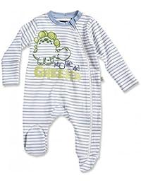 Blue Seven Dino Baby Schlafanzug Strampler hellblau