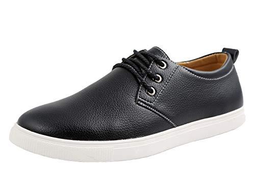 WUIWUIYU Chaussures de Ville Homme Oxford Derby Casual Business Respirant Taille 38-49 EU