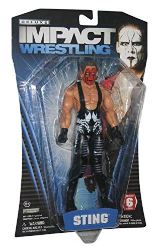 TNA Impact Wrestling Deluxe Series 6 Sting Action Figure (Wwe Sting-action-figur)