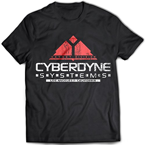 Cyberdyne Systems Distressed Terminator T-Shirt