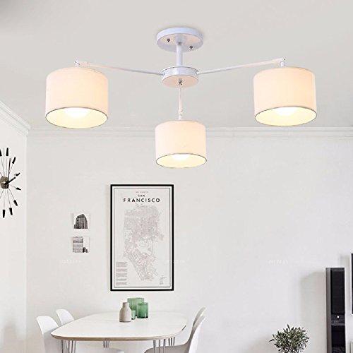 KHSKX Salotto moderno semplice atmosfera LED luci,
