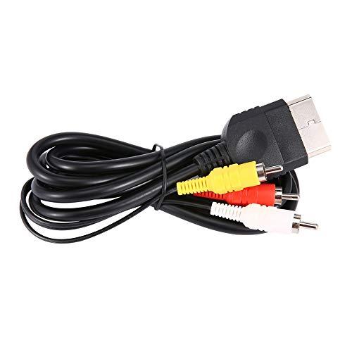 Ersatz 6FT / 1.8M Audio Video Composite Kabel AV 3 Cinch Kabel für Xbox Original Classic 6 Composite Audio