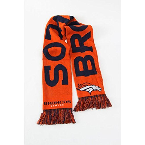 NFL WORDMARK Schal Denver Broncos