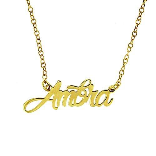 Collana girocollo personalizzabile con il tuo nome   argento 925
