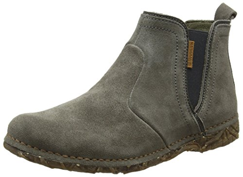 El Naturalista N996 Lux Suede Grafito/Angkor, Bottes Chelsea Femme Gris (Grafito Nr3)