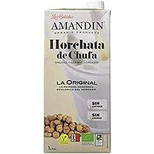 AMANDÍN Horchata de Chufa Ecológica - Paquete de 6 x 1000ml ...