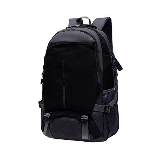 Yy.f Computer Rucksack Bergsteigen Draußen Schultern Schüler Tasche Tag Rucksack Markise Bergsteigen Angeln Reisen Bike. Mehrfarbig Black