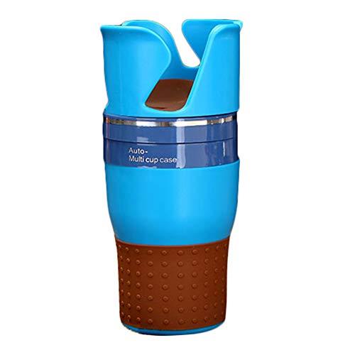 Dnasrivew Multifunktions-Autohalterung für Handys, Sonnenbrillen, Münzen, Schlüssel, Getränke-Becherhalter, Aufbewahrung, Auto-Organizer blau
