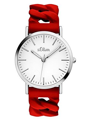 s.Oliver Damen-Armbanduhr SO-3508-PQ