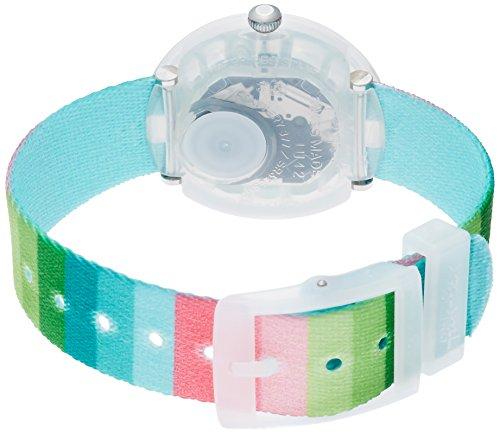 Flik Flak Mädchen Analog Quarz Uhr mit Stoff Armband FPNP014 - 2