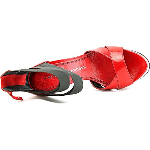Chinese Laundry Mercy Cuir Talons red-black