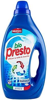 Bio Presto Detersivi Lavatrice Liquidi 0.95lt Rp 19ct