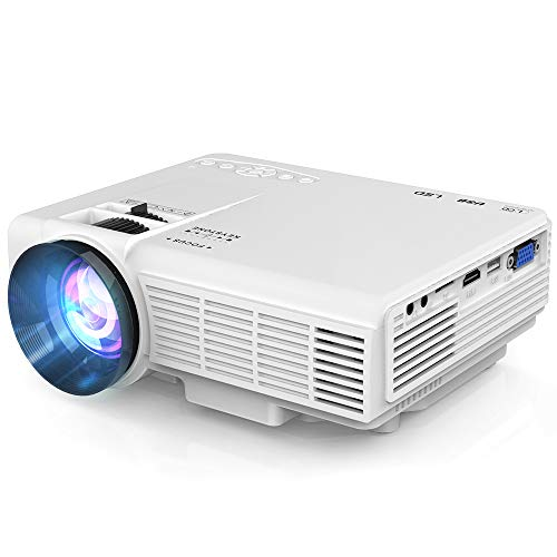 Projector 1080P Supported 4 Inch...