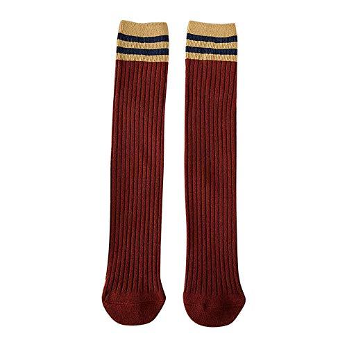 iHAZA Damen Warm VertikaleStreifen Socken Plus Samt Verdickung Socken -
