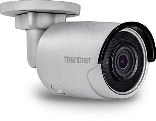 TRENDnet Indoor/Outdoor 5MP H.265 WDR PoE IR Bullet Netzwerk Kamera, Nachtsicht bis zu 30 M (98 ft.), TV-IP316PI Ip-kamera-tv