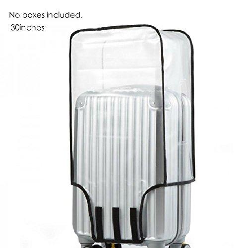 Bloomma Housse de protection transparente résistante àusure de Waterproof pour valise de voyage