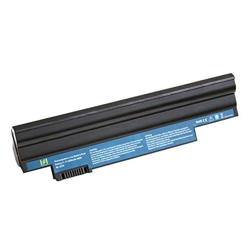 HASESS Nuovo Alte Prestazioni LaPtoP Batteria di Notebook ComPuter Portatili Sostituzione Per Acer AsPire One (Netbook 6 Cell Battery)