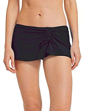 Lau's Bikini falda mujer natacion - Trajes de baño bikini bañadores con abertura y Bragas