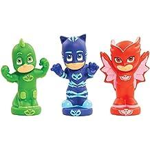 PJ Masks PJM11 juego, juguete y pegatina de baño Bath figure toy Azul, Verde