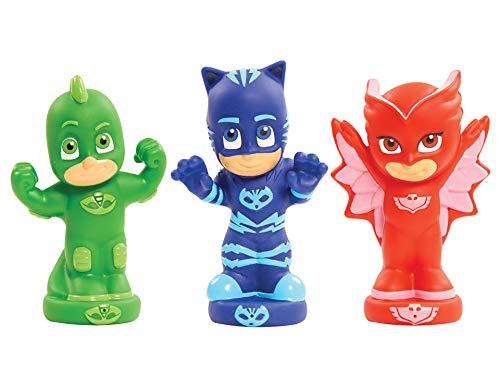 PJ Masks PJM11 juego, juguete y pegatina de baño Bath figure toy Azul, Verde, Naranja - Juegos, juguetes y pegatinas de baño (Bath figure toy, Niños, 3 año(s), Niño/niña, Azul, Verde, Naranja, 225 mm)