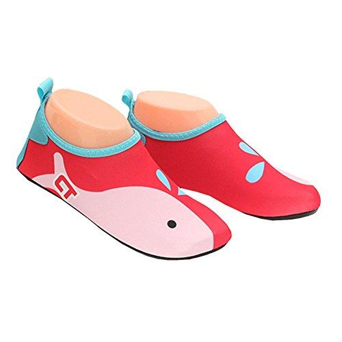 Jovens De Sapatos De Sapatos Sapatos Borracha Sola Badeschuhe Super Anti Ibaste De Homens Infantil Sapatos De derrapante Praia Sapatos Navegar Água Dança De Água Para Na De Vermelho Amortecidos Bem Desporto Aqua E Sapatos Muito Leve REZqYg