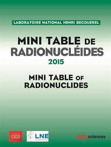 Mini table de radionucléides par Laboratoire Henri Becquerel