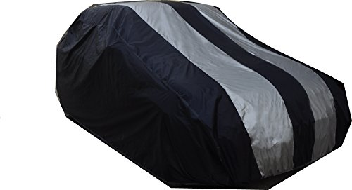 Auto Shelter Parachute Simply Fusion (Navy Blue with Silver Plated) Car Body Cover for Hyundai Grand I10 - (With Side Mirr...  available at amazon for Rs.1938