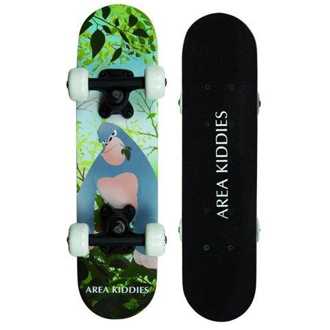"""Area Kiddies' Kinderboard """"Gorilla"""" - kleines Anfänger Skateboard für Kinder 3 bis 5 Jahre, 51 cm lang"""
