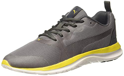 Puma Men's Canim Idp Castelrock-Sulphur Running Shoes-7 UK (40.5 EU) (8 US) (37122203_7)