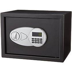 AmazonBasics Caja fuerte , color negro