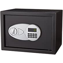 AmazonBasics Steel Security Safe
